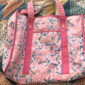 Lilly Pulitzer Bags - Discontinued Lilly Pulitzer Delta Gamma Tote ⚓️
